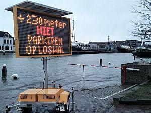Hoogwater verwacht in Maassluis