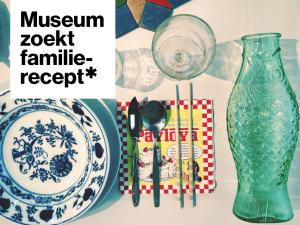 Stedelijk Museum Schiedam zoekt familierecepten