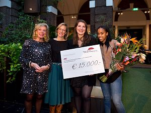 JINC wint Anne-Marie van der Lindenprijs