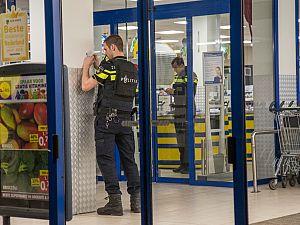 Behalve overval ook gijzeling van winkelpersoneel Lidl