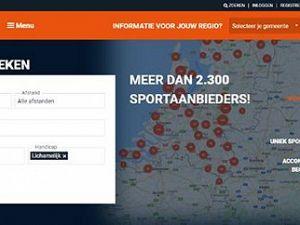 Website brengt vraag en aanbod aangepast sporten bij elkaar