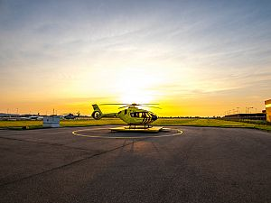 Kennismaken met de nieuwe traumahelikopter