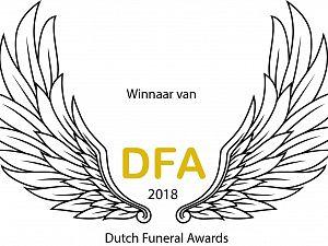 Matrice wint Dutch Funeral Award