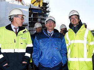 Windpark 'vergund' bij HSM Offshore