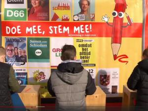 Denk grootste in Schiedamse Kinderverkiezingen