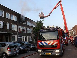 Uitslaande brand Van 's-Gravesandestraat