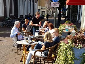 Zomer in Schiedam