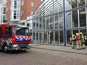 Man gewond bij brand in Marconihove