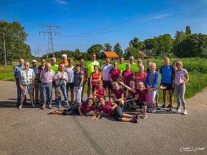 Lopersgroep doneert aan De Margriet