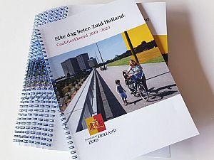Zuid-Holland heeft nieuw bestuur