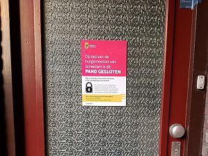 Bordeel Rotterdamsedijk gesloten