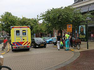 Aanrijding op Koemarkt / Hoogstraat