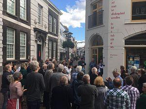 Biesheuvel krijgt 'muur' in Schiedam