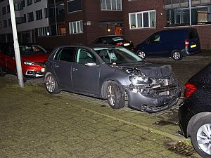 Trammelant door automobilist in oost