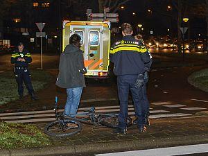 Scholier aangereden op rotonde Vlaardingen-Oost