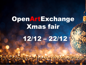 Open Art Exchange – Xmas Art Fair