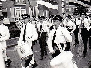 Reünie van negentigjarige Rijnmondband