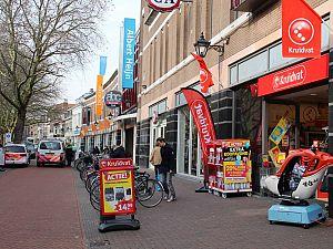 Winkeliers binnenstad: actie tegen raddraaiers