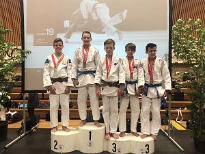 Vijf podiumplaatsen Sportinstituut Schiedam in Echt