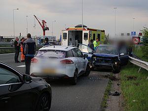 Tunnelbuis afgesloten na ongeval