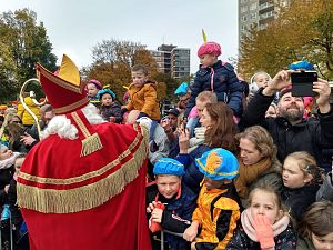 Sinterklaas is in Schiedam