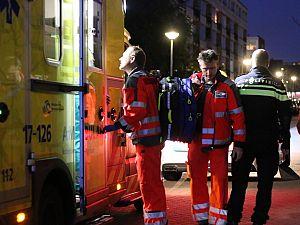 Traumahelikopter voor patiënt Noordvestsingel