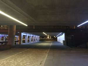 Onderdoorgangen bij station beter uitgelicht