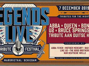 Tributefestival Legends Live gaat niet door