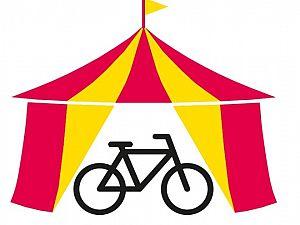 Komt dat zien... fietscircus in de stad!