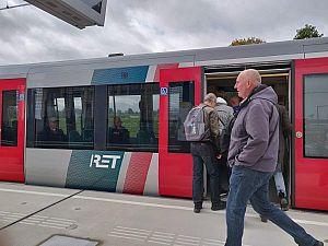 Frequentie metro's Hoekse Lijn per 4 november omhoog