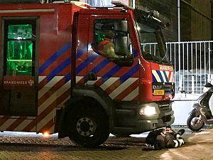 Protest tegen vertrekkende brandweer