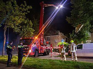 Brand in vrijstaande woning BK-laan