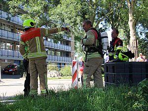 Gaslek aan Havendijk, flat ontruimd