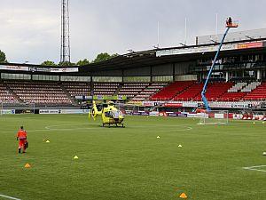 Traumahelikopter naar explosie in Spangen