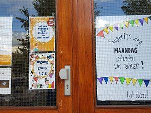 Scholen weer open: lach staat al twee dagen op alle gezichten