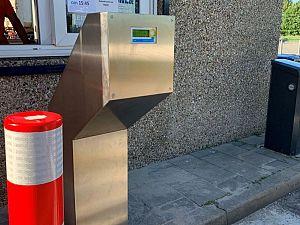 Pas geeft toegang tot afvalstation Fokkerstraat