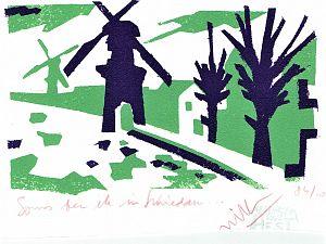 Sonja exposeert werk van Willem van Hest