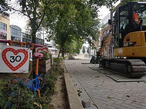 Bewoners blij met werk aan Breedstraat/Vlaardingerstraat