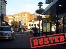 Man aangehouden voor vernielen van auto op Parkweg