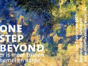 Finissage van tentoonstelling 'One Step Beyond' komt eraan