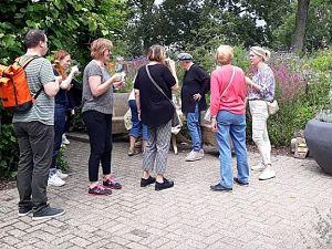 Servicepunt Vrijwilligers Schiedam bezoekt de Maastuin