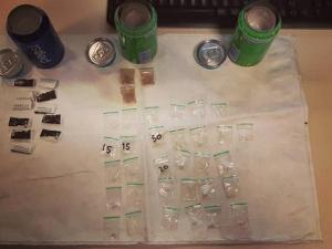 Twee man vast: geen Fernandes maar drugs in blikjes