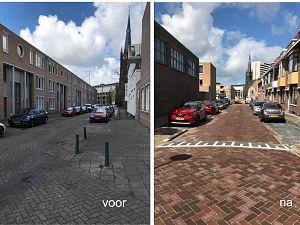 Nieuwe afvoer en bestrating voor Laurens Costerstraat