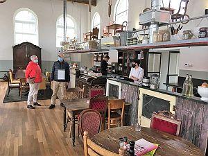 Restaurant Hotspot Hutspot in oude gymzaal open