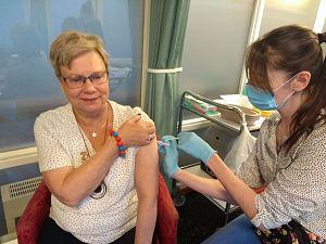Argos begint met Coronavaccinatie verpleeghuisbewoners
