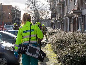Keukenbrand in Willem Pijperstraat