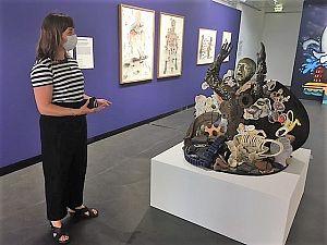 Pop-up tentoonstelling van museum bij Kunstwerkt