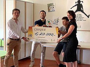 Ronde Tafel doneert € 20.000 aan Stichting Passie
