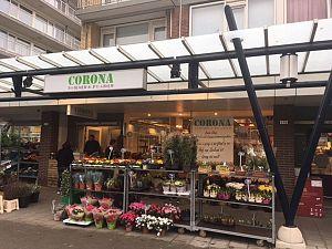 Bloemenwinkel Corona gaat stoppen in Nolenslaan