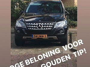 Auto gestolen van familie achter Woo Ping